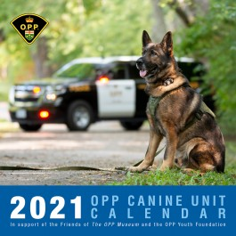 OPP Canine Calendar 2021  **Limited Quantities Available**