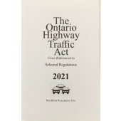 Highway Traffic Act - 2021
