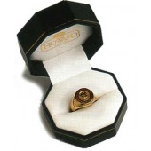 Mens COA Ring with Rubies